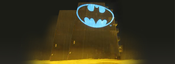 Building Projection - Batman