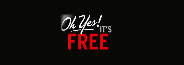 Oh yes! It&#039;s free