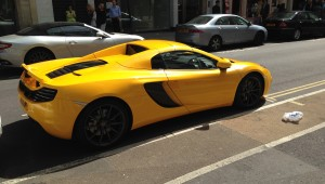 McLaren 12C Spider Convertible Sport Car