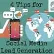 Online lead generation through social media