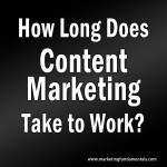 How Longo Does Content Marketing Take to Work