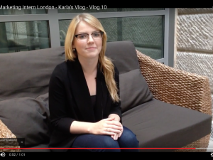 Digital Marketing Intern London – Karla's Vlog – Week 10