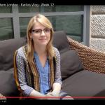 Digital Marketing Intern London Karla's Vlog - Week 12