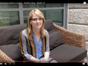 Digital Marketing Intern London – Karla's Vlog – Week 12