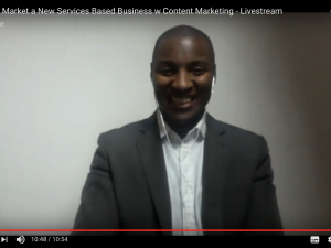 How to Market a Services Business with Content Marketing – Livestream