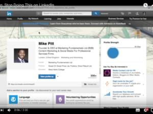 LinkedIn: Stop Doing This on LinkedIn