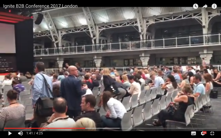 Ignite B2B Conference 2017 London