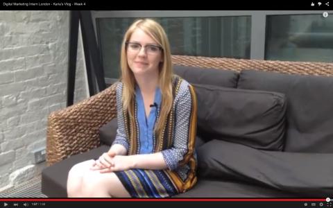 Digital Marketing Intern London - Karla's Vlog - Week 4