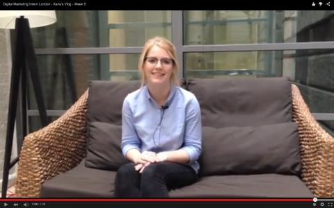 Digital Marketing Intern London - Karla's Vlog - Week 5