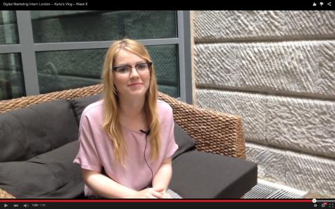 Digital Marketing Intern London - Karla's Vlog