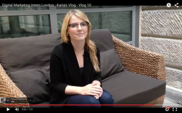 Digital Marketing Intern London - Karla's Vlog