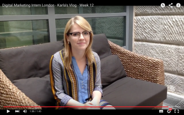 Digital Marketing Intern London Karla's Vlog - Week 12
