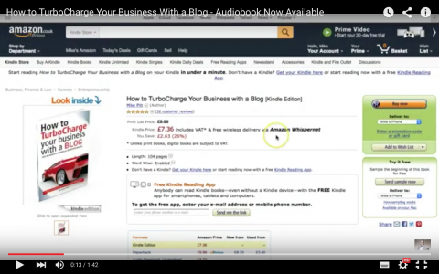 How to TurboCharge Your Business with a Blog Audiobook