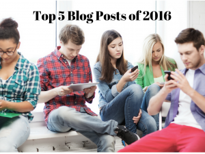 Our Top 5 Most Popular Posts of 2016