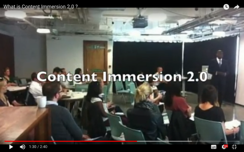 What is Content Immersion 2.0?