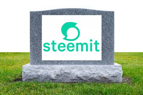 Is Steemit Dead