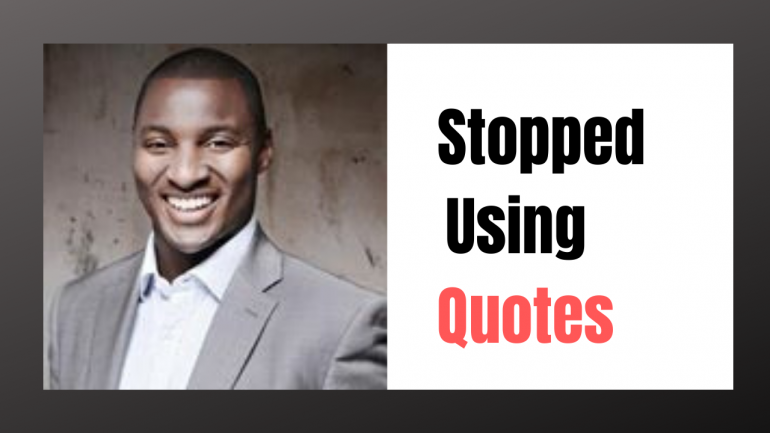Why I Stopped Using Quotes in my Marketing