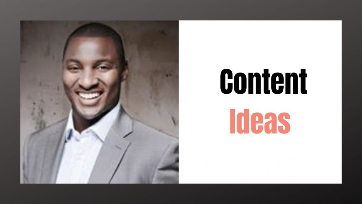 where can you find content ideas