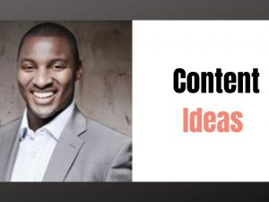 Where can you find Content Ideas?
